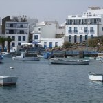 Marina in Arrecife, makes for a nice stroll round its perimeter
