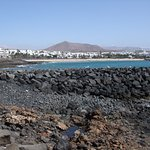 Typical view of seafront Costa Teguise