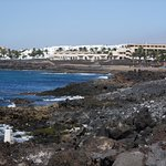 Another typical view Of seafront Costa Teguise