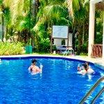 July 2017  Beautiful weather  Nice calm water at the beach  Bountiful Palm Trees Wonderful Resta