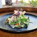 Poached Prawn and Avocado Salad