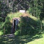 Sami hut outside museum