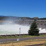 Bonneville Dam in Action