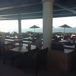 Infiniti top level Bar/restaurant area (live evening music here)