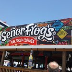 Senor Frogs is the best place to eat and party on the island.
