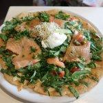 Petit Cafe, Kuranda - Smoked Salmon Crepe