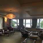 The Conservatory Room overlooking the Kenmare Bay.