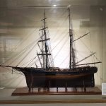 One of MANY ship models