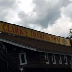 Clark's Trading Post and the White Mt. Central RR Foto