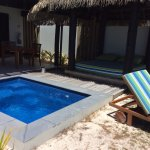 Private Plunge Pool and day bed