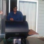 BBQing at Ocean Terrace