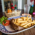 Toulouse Sausage with Fries