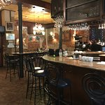 Bar & eating area