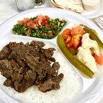 Lamb shawerma Platter