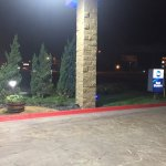 Sign & Landscaping
