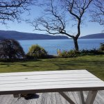 View from our Guest house at Lake Tarawera, Stunning