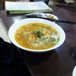 Shan Noodles in Broth