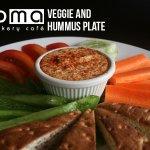 Fresh-cut veggies with our own house-made hummus