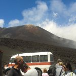 Mt. Etna and the bus