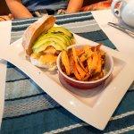 Hawaiian Vegan Chicken Burger