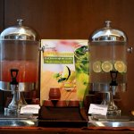 Complimentary Refreshing drink dispenser placed at Lobby level for those hot summer days