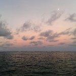 Sunrise over the Lano beach