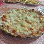 Pizza con surimi