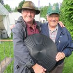 We two 'panners' and a competition pan