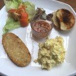 Veggie 'big' breakfast - disappointing