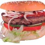 The XXXL 350 gr burger
