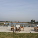 Parque y lago