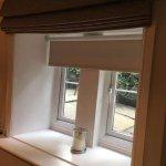 Beams, deep window sills, candles, perfect!