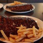 Two huge racks of ribs!