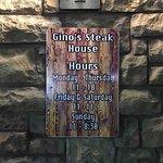 Foto de Gino's Steakhouse of Merrillville