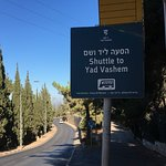 Place near Mount Herzl light rail stop where you can get shuttle to the front door.