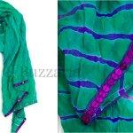Silk Tie and Dye Scarves and Dupattas by MeriJaan