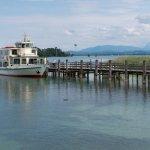 The ferry at Herreninsel