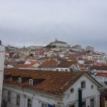 View from our Hotel Vitoria Coimbra room