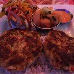 Crab cake plate