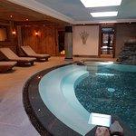 SPA au fond hammam et sauna