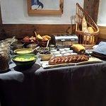 buffet petit déjeuner côté sucré