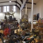 There's lots to see at Tosh. We are based in the old parish hall building.
