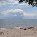Beach at Mary Curtis Park, on Lake Ontario