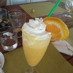 Sorbete mandarina vodka