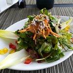 salad plating