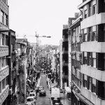 view of Rue Santa Catarina from balcony
