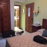 Nice room and our dog