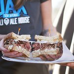 Navel-cut Pastrami Sandwich--one of the best in Wilmington!
