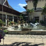 Courtyard outside of Lobby