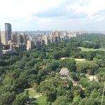 Killer views of Central Park - best part of our stay.